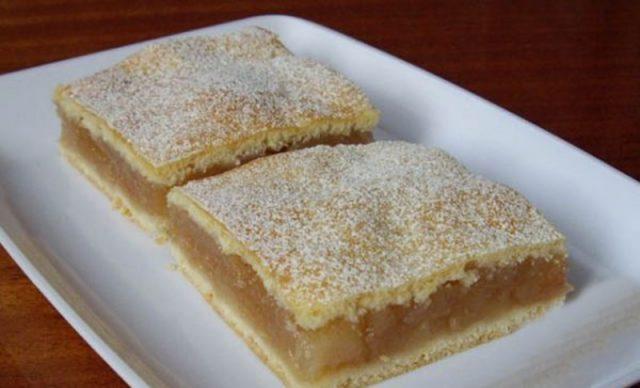 Geniální koláč z první republiky: Jablečné řezy jako od babičky