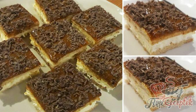 Vynikající karamelový dezert bez vaření i pečení, hotový za 10 minut