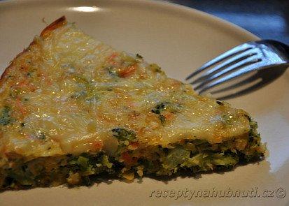 Zapečená brokolice s čočkou